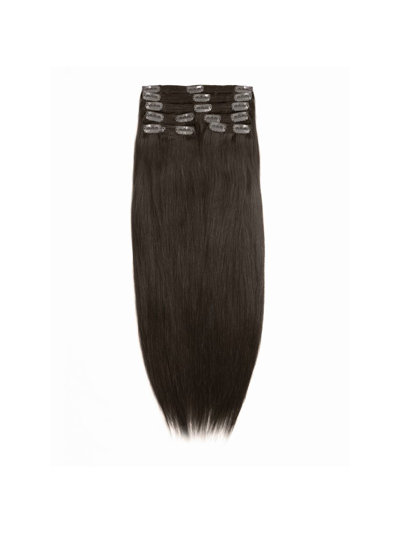 Remy Clip In Hair Extension 16