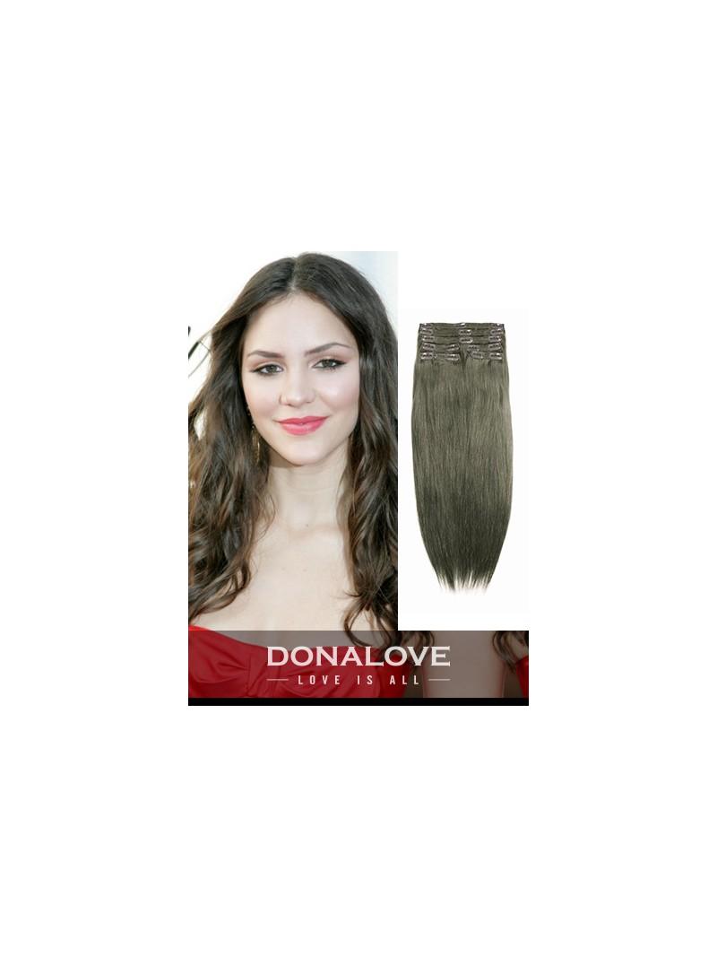 Medium ash brown indian remy clip in hair extensions sd010 clip medium ash brown indian remy clip in hair extensions sd010 pmusecretfo Choice Image