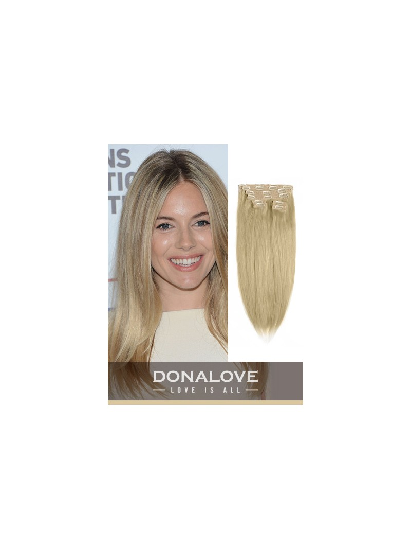 Light Golden Brown Extensions Human Hair Extensions