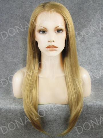 #25 Waist-length Straight Synthetic Lace Wig-SNY012