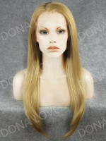 "24"" #25 Waist-length Straight Synthetic Lace Wig-SNY012"
