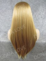 "4"" #25 Waist-length Straight Synthetic Lace Wig-SNY012"