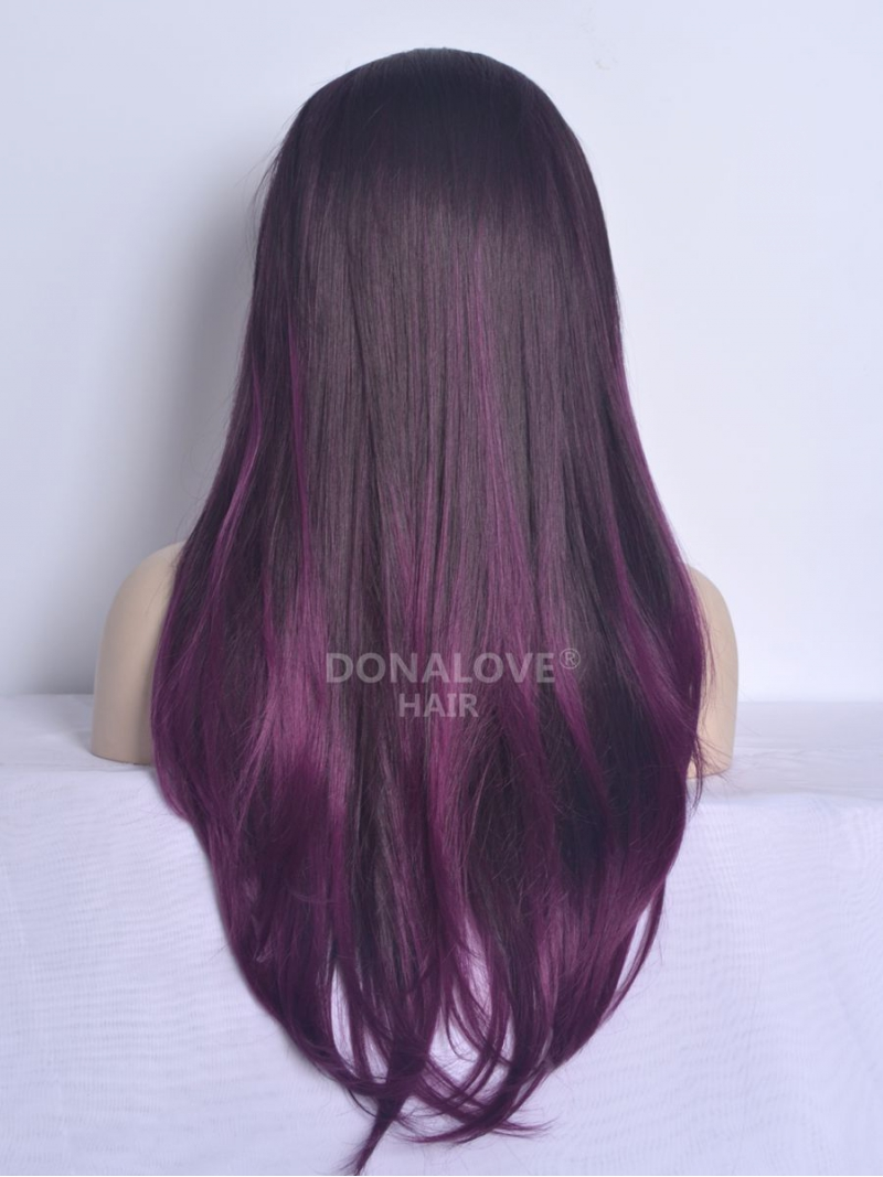 Brown Purple Ombre Hair Extensions Prices Of Remy Hair