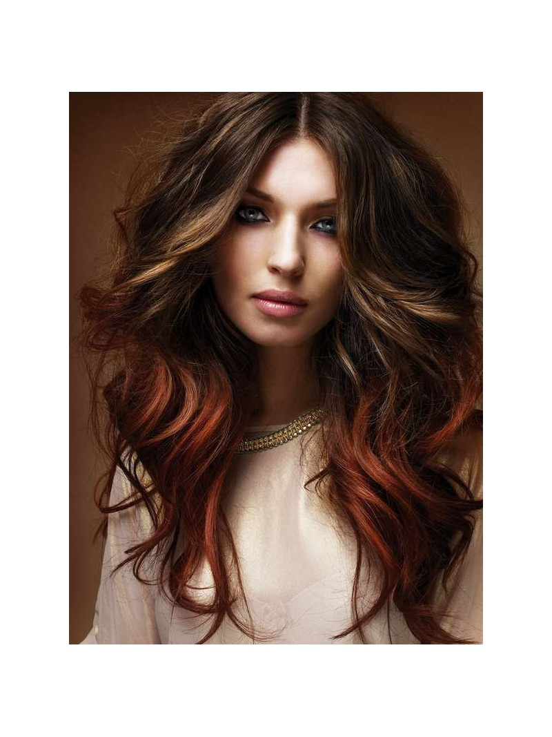 Ombre and balayage indian remy clip in hair extensions od024 two colors ombre indian remy clip in hair extensions od024 pmusecretfo Images