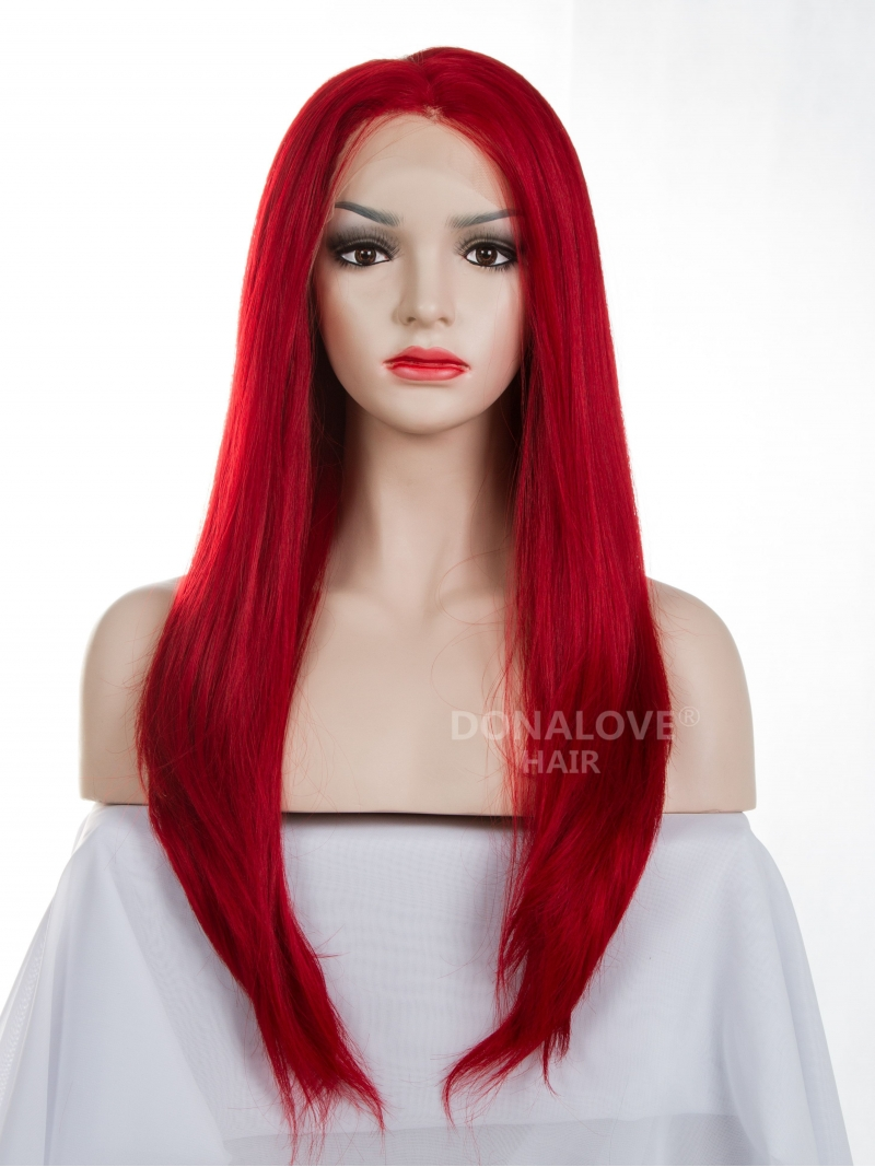 Hot Red Lace Wig 92