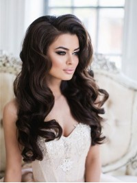 Sexy Wavy High Quality Lace Front Human Hair Wig HH011