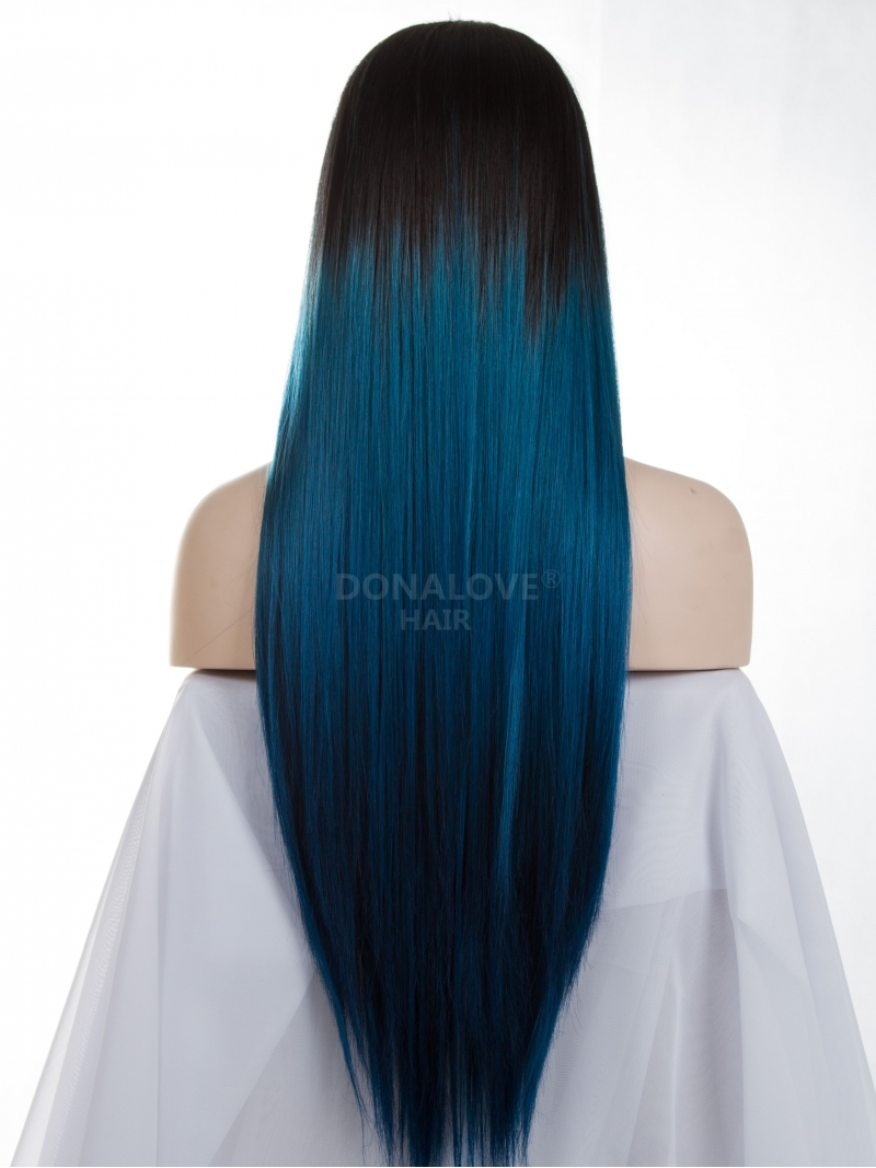 Blue Hair Wig Costume And Wigs