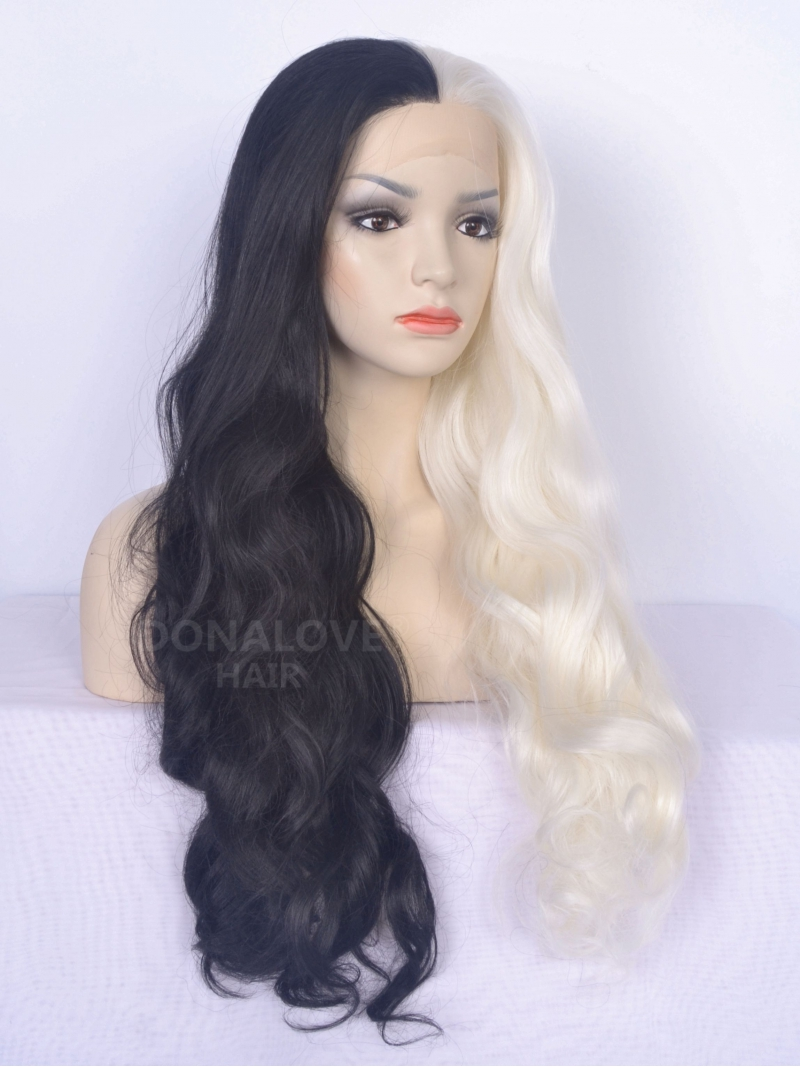 Half Black And Half White Hair Www Pixshark Com Images