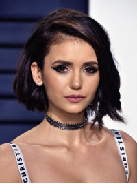 Nina-Inspired Sexy Bob Hair Cut Full Lace Human Hair Wig FLW010