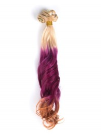 Mermaid Colorful Indian Remy Clip In Hair Extensions CD003