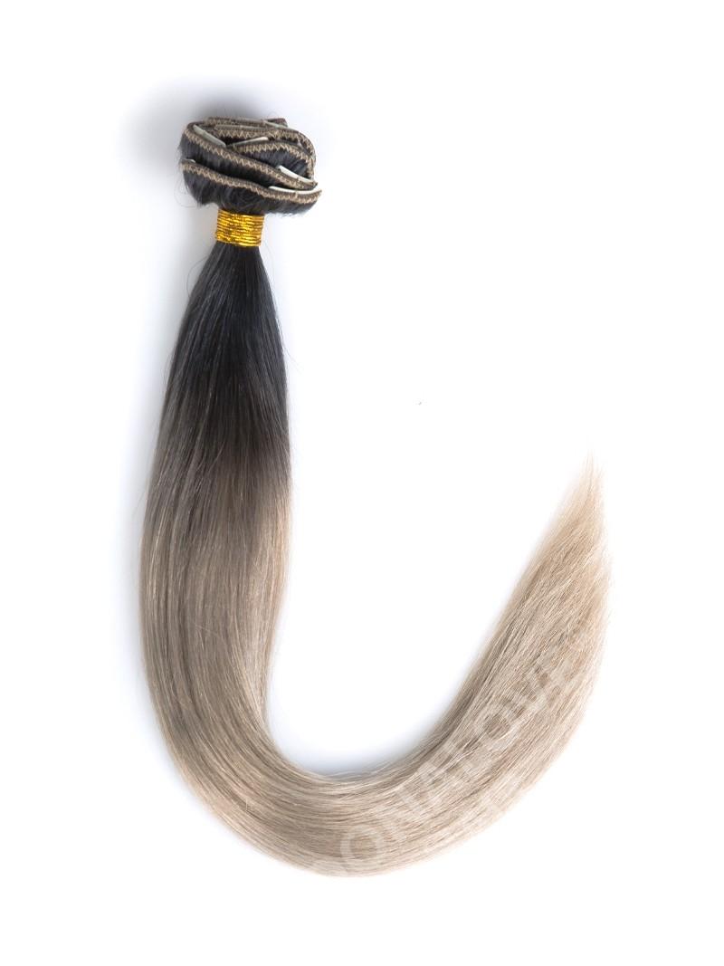 off black to light ash brown mermaid clip in hair. Black Bedroom Furniture Sets. Home Design Ideas