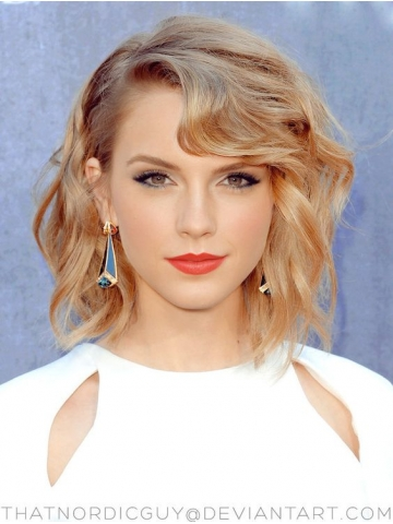 light-blonde-cute-short-wavy-bob-lace-front-wig-hh031