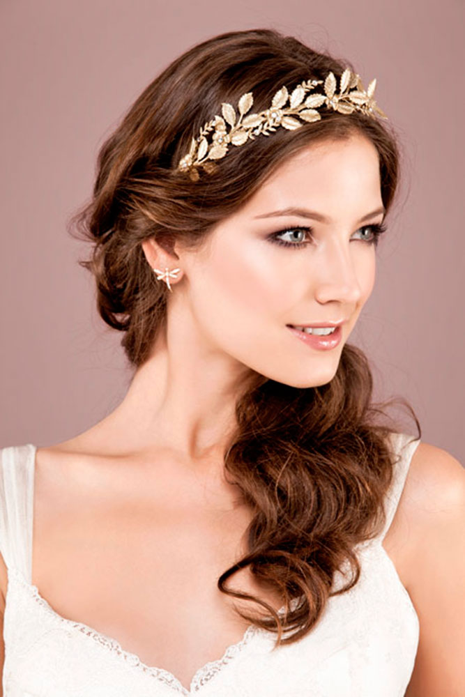 Greek Wedding Hair For The Divine Brides