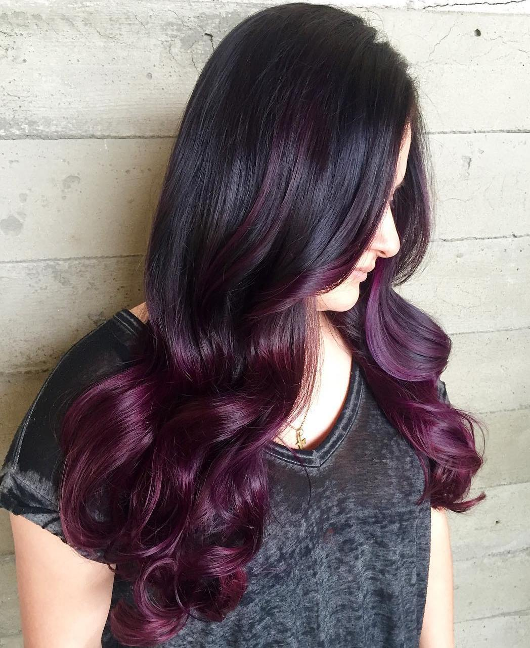10-black-to-burgundy-ombre