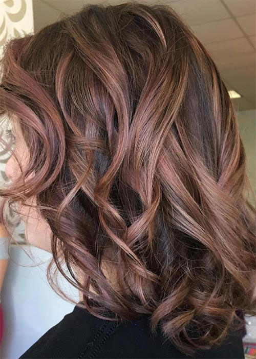 Chocolate and Rose Balayage3
