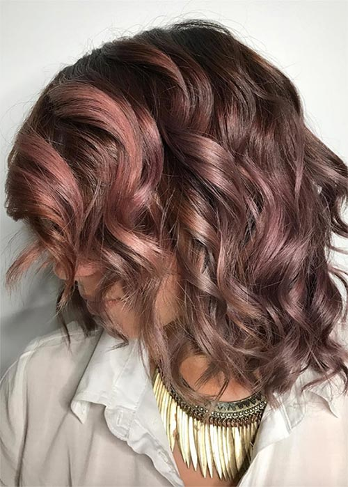 20 Pretty Chocolate Mauve Hair Colors Inspired Your Next New Hair ...