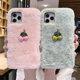 FURRY APPLE SHOCKPROOF PROTECTIVE DESIGNER IPHONE CASE PC023