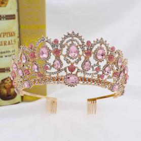 BAROQUE BRIDAL CROWN AC056