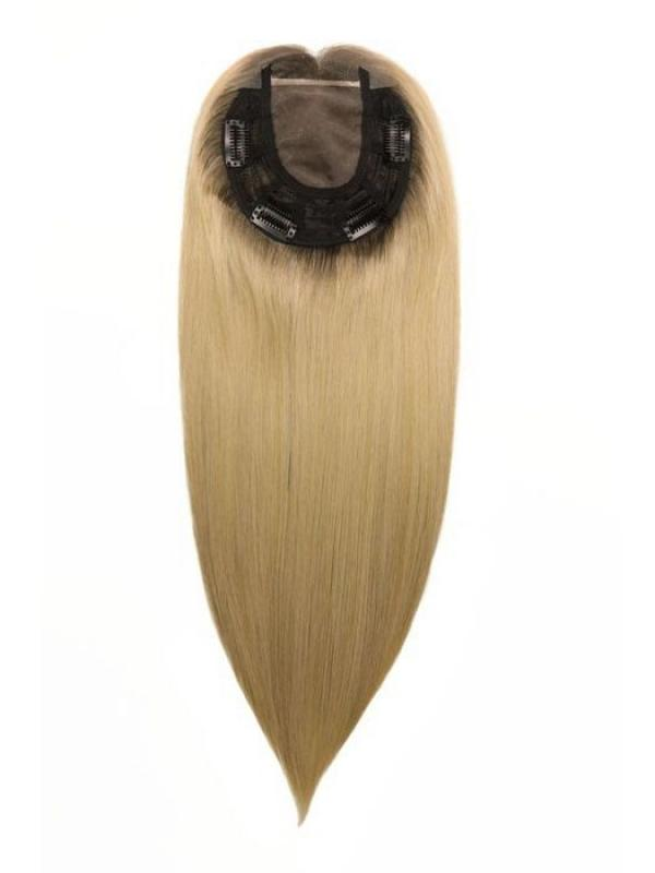 "5.5""*5.5"" Virgin Remy Human Hair Monofilament Base Topper TP003"