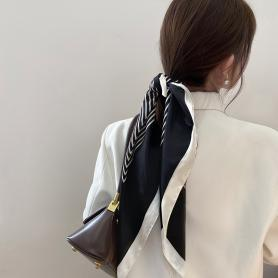 ONE PIECE OF STRIPE SILK HAIR BAND HB268