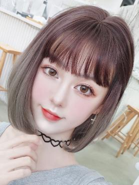 Chocolate to Aoki Synthetic Wefted Cap Wig LG043