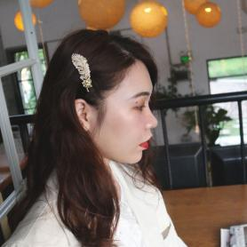 ONE PIECE OF FEATHER HAIR CLIP DC042