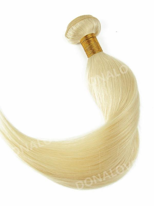 White Blonde Indian Remy Clip In Hair Extensions Color Diy 613a