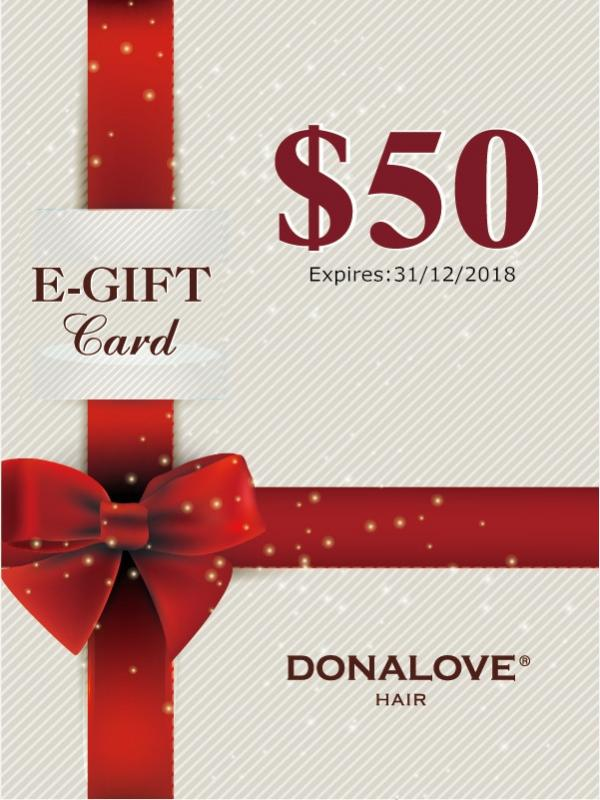 Donalove Limited pay $5 get $50 gift card