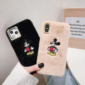 FURRY MICKEY MOUSE SHOCKPROOF PROTECTIVE DESIGNER IPHONE CASE PC005