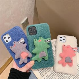 FURRY CROCODILE SHOCKPROOF PROTECTIVE DESIGNER IPHONE CASE PC032