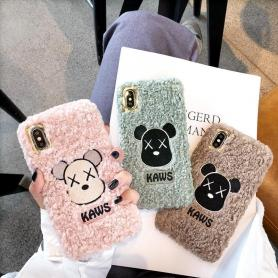 FURRY SHOCKPROOF PROTECTIVE DESIGNER IPHONE CASE PC002