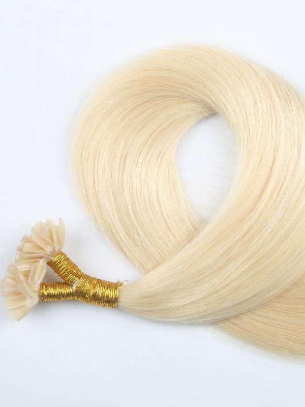 Solid color Hair Extensions with bondings
