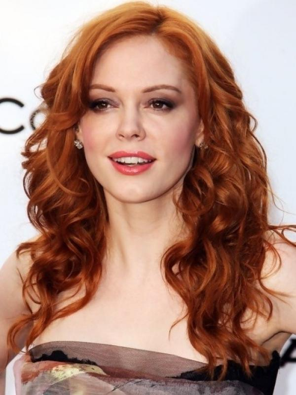 Medium Orange Red indian remy clip in hair extensions SD020