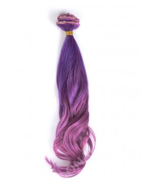 Purple Mermaid Colorful Clip In Hair Extensions CD018