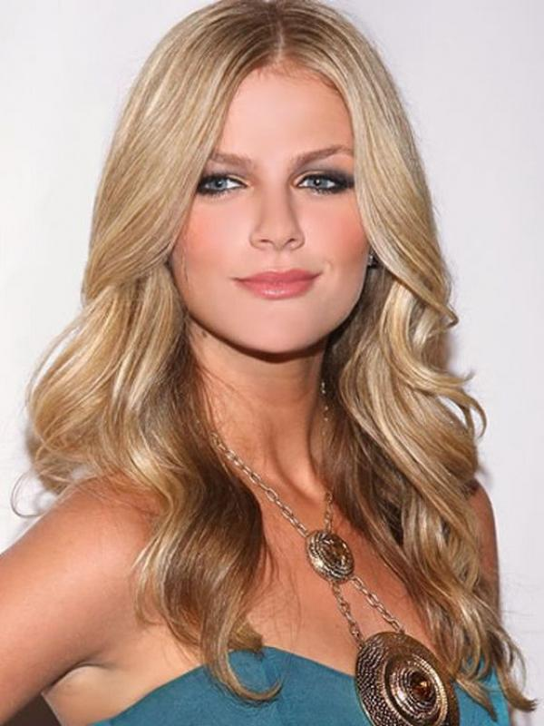 Blonde Long Wavy Celebrity Lace Front Wig HH032