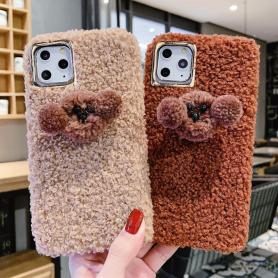 FURRY PUPPY SHOCKPROOF PROTECTIVE DESIGNER IPHONE CASE PC021