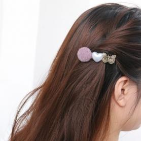 ONE PIECE OF VINTAGE ROSE HAIR CLIP DC049
