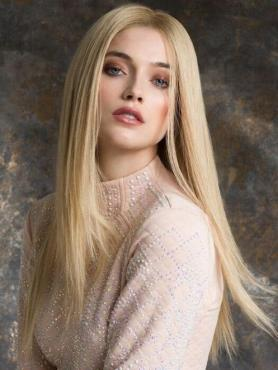 WHITE BLONDE STRAIGHT HUMAN HAIR LACE FRONT WIG HH065