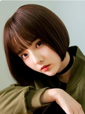NEW DARK BROWN BOB SYNTHETIC WEFTED CAP WIG LG080
