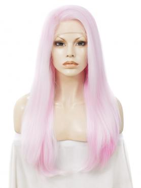 MAGIC Temperature sensitive color changing synthetic lace wigs TSC001