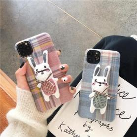 RABBIT SHOCKPROOF PROTECTIVE DESIGNER IPHONE CASE PC007
