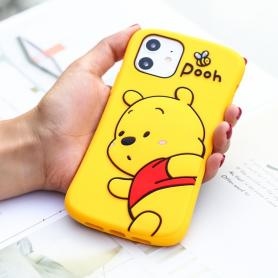 WINNIE-THE-POOH SHOCKPROOF PROTECTIVE DESIGNER IPHONE CASE PC078