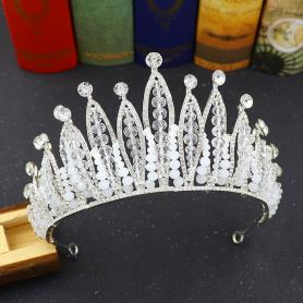 BAROQUE BRIDAL CROWN AC053
