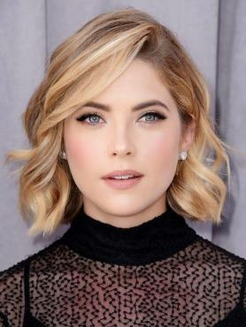 Sexy Blonde Wavy Bob Lace Front Human Hair Wig HH016