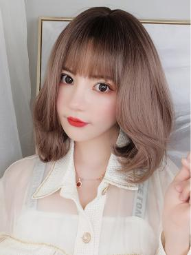NEW GRADIENT SYNTHETIC WEFTED CAP WIG LG098
