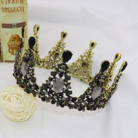 BAROQUE VINTAGE BRIDAL CROWN AC038