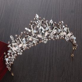 BAROQUE BRIDAL CROWN AC032