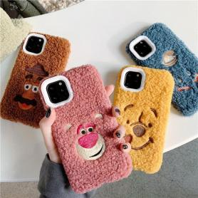 FURRY WINNIE THE POOH SHOCKPROOF PROTECTIVE DESIGNER IPHONE CASE PC026