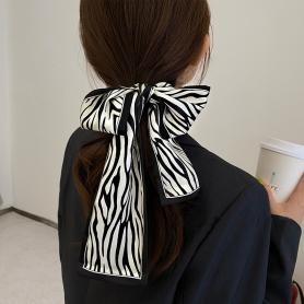 ONE PIECE OF ZEBRA STRIPE SILK HAIR BAND HB271