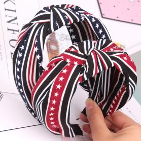 ONE PIECE STAR STRIPE HAIR BAND HB181